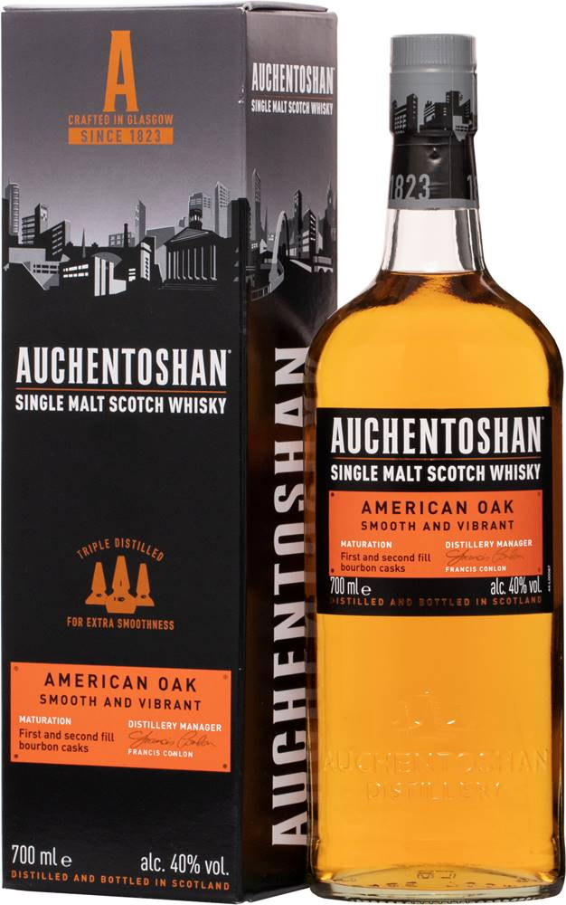 Auchentoshan Auchentoshan American Oak 40% 0,7l