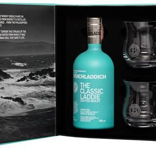 Bruichladdich The Classic Laddie + 2 poháre 50% 0,7l