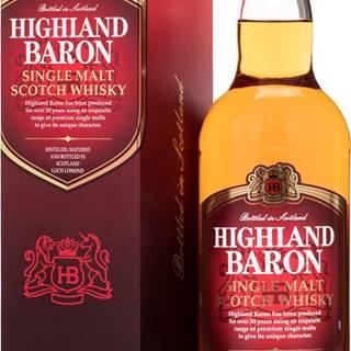 Highland Baron Single Malt Whisky 40% 0,7l