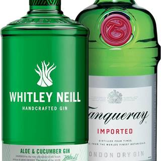 Set Tanqueray + Whitley Neill Aloe & Cucumber