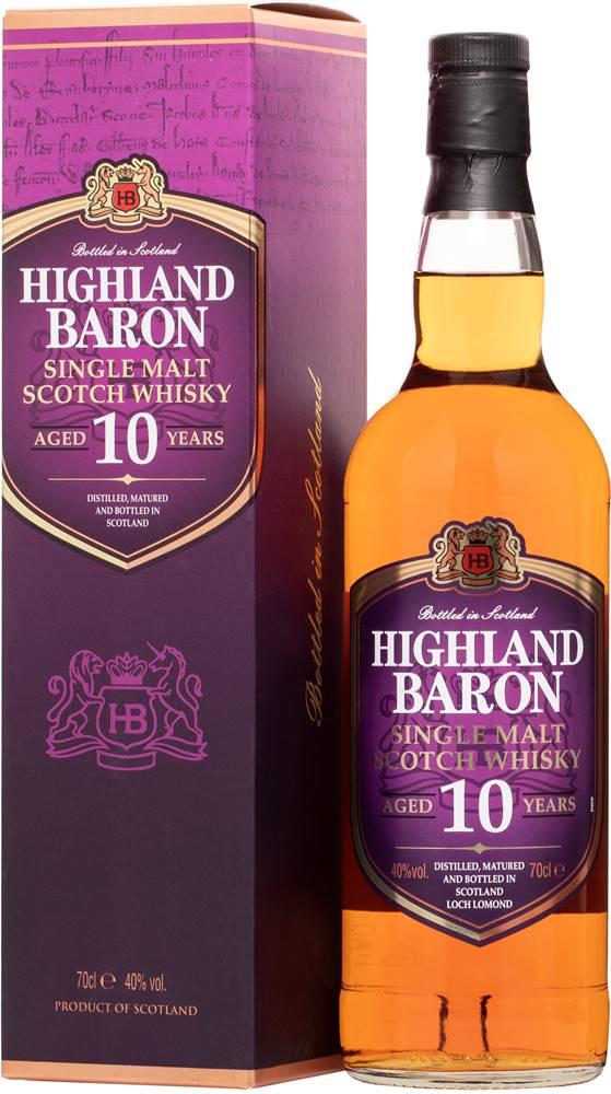 Highland Baron Highland Baron 10 ročná Single Malt Whisky 40% 0,7l
