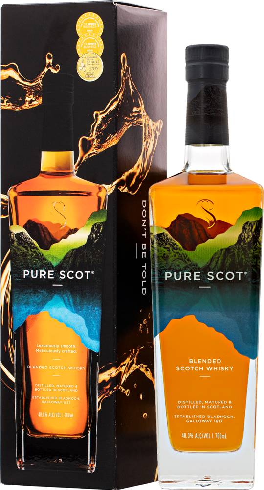 Pure Scot Pure Scot Signature NAS Blended Whisky 40% 0,7l