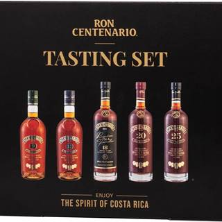 Ron Centenario Tasting Collection 5 x 0,05l 40% 0,25l
