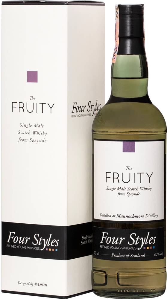 Four Styles Four Styles The Fruity Mannochmore 2012 40% 0,7l