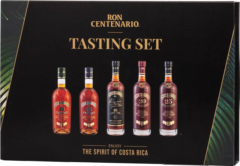 Ron Centenario Ron Centenario Tasting Collection 5 x 0,05l 40% 0,25l