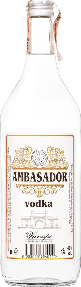 Vanapo Ambasador vodka 1l 40%