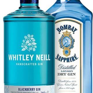 Set Bombay Sapphire + Whitley Neill Blackberry 1,4l