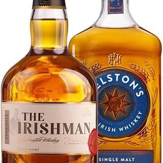 Set The Irishman Single Malt + Gelstons Single Malt