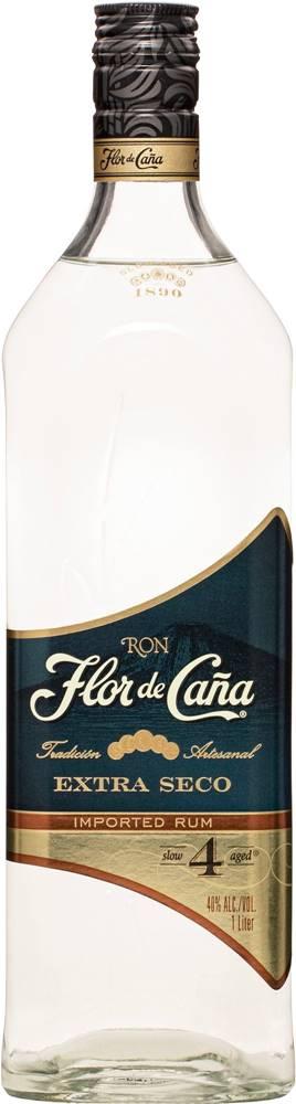 Flor de Cana Flor de Caña Extra Seco 4 ročný 1l 40%