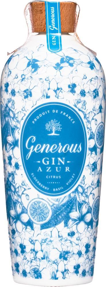 Generous Gin Generous Gin Azur 40% 0,7l