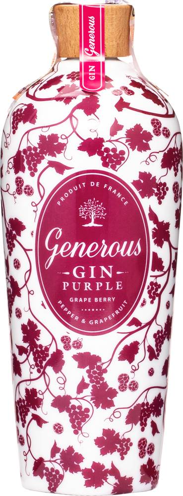 Generous Gin Generous Gin Purple 44% 0,7l