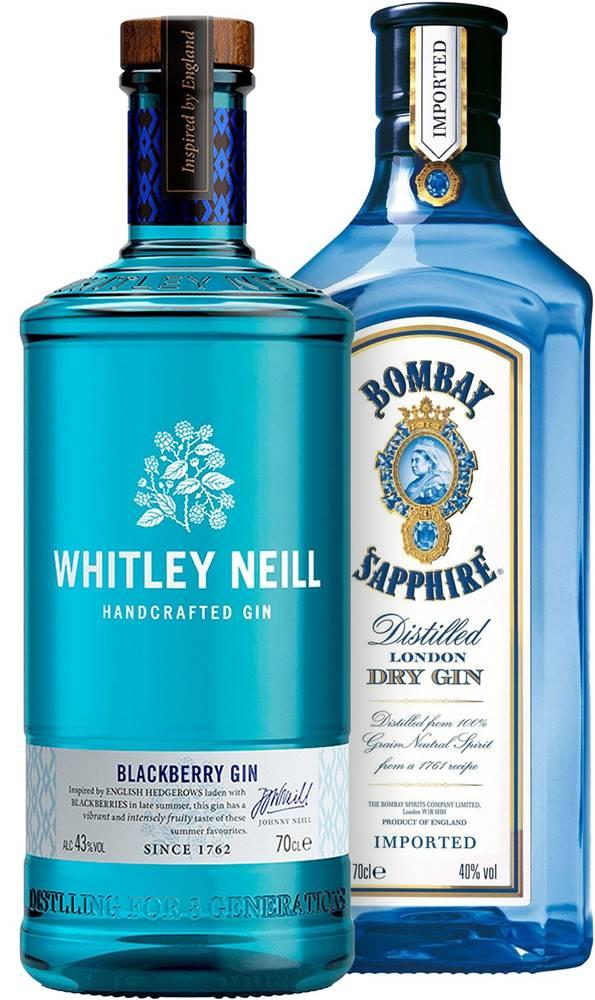 Whitley Neill Set Bombay Sapphire + Whitley Neill Blackberry 1,4l