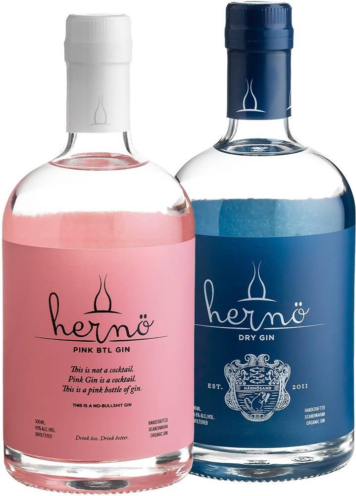 Hernö Gin Set Hernö Pink + Dry
