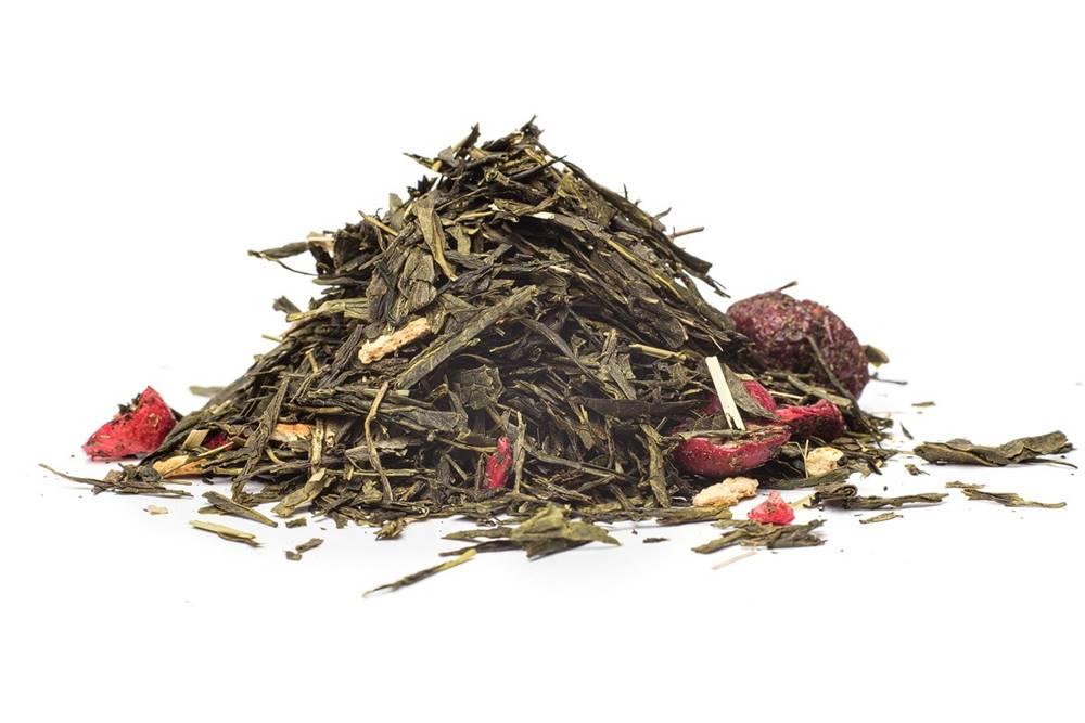 Manu tea BRUSNICOVO - CITRÓNOVÝ - zelený čaj, 10g