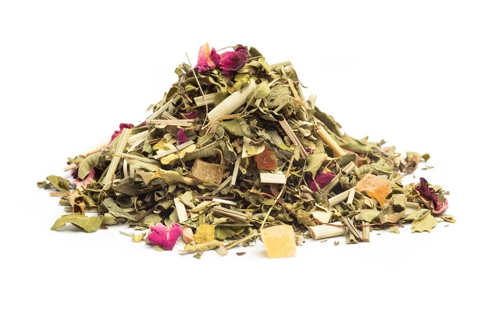 Manu tea GRANÁTOVÉ JABLKO S MORINGOU - bylinný čaj, 10g