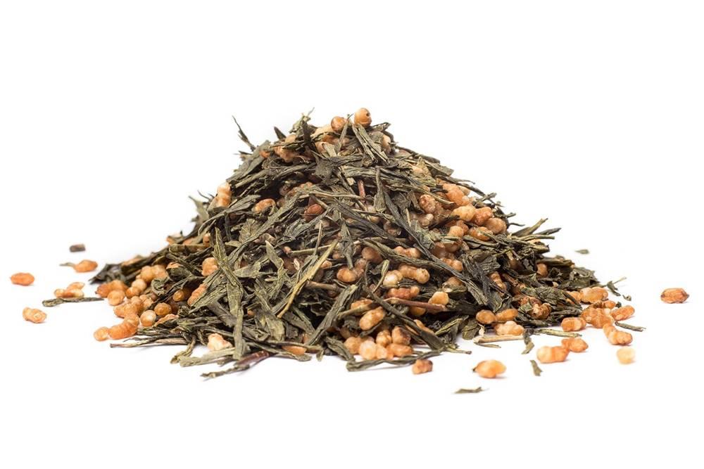 Manu tea JAPAN GEN MAI CHA - zelený čaj, 10g
