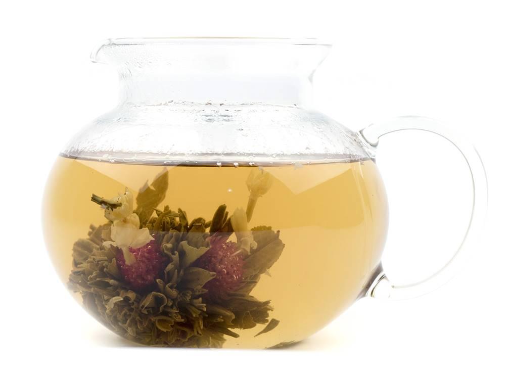 Manu tea NEŽNÝ KVET - kvitnúci čaj, 10g