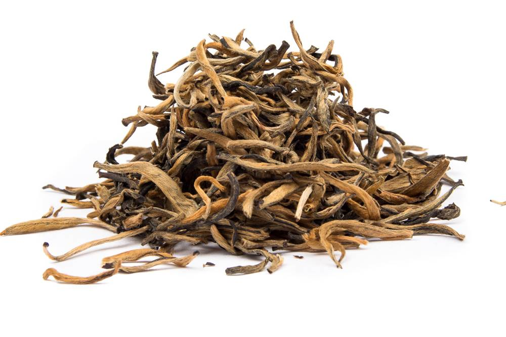 Manu tea CHINA YUNNAN GOLDEN BUD MAO FENG - čierny čaj, 10g