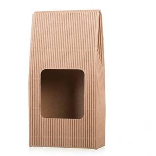 Darčeková krabica na kávu s okienkom