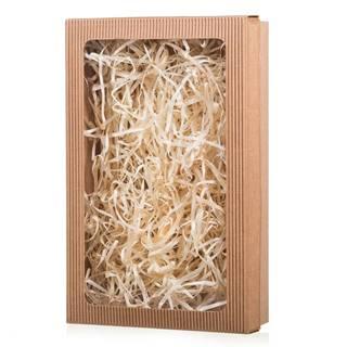 Darčeková krabica s priehľadom 290 x 180 x 60 mm