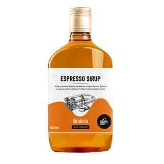 ESPRESSO SIRUP ŠKORICA - 500 ml