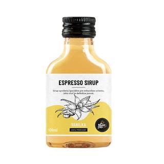 ESPRESSO SIRUP VANILKA - 100 ml