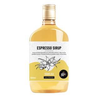 ESPRESSO SIRUP VANILKA - 500 ml