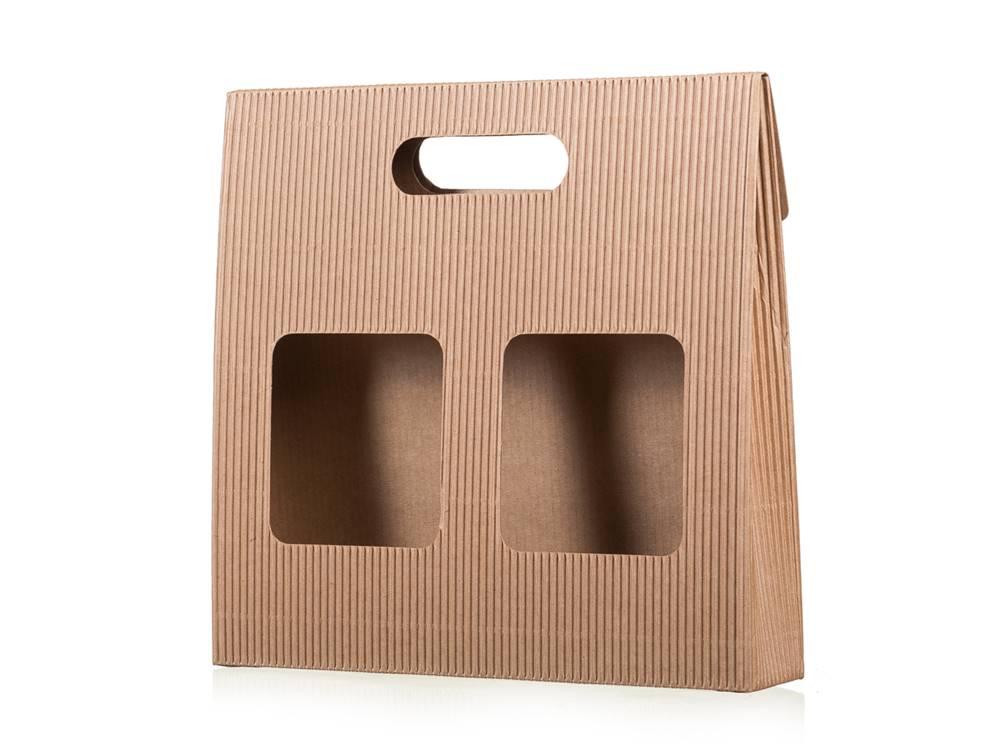 Manu cafe Darčeková krabica na kávu s okienkami