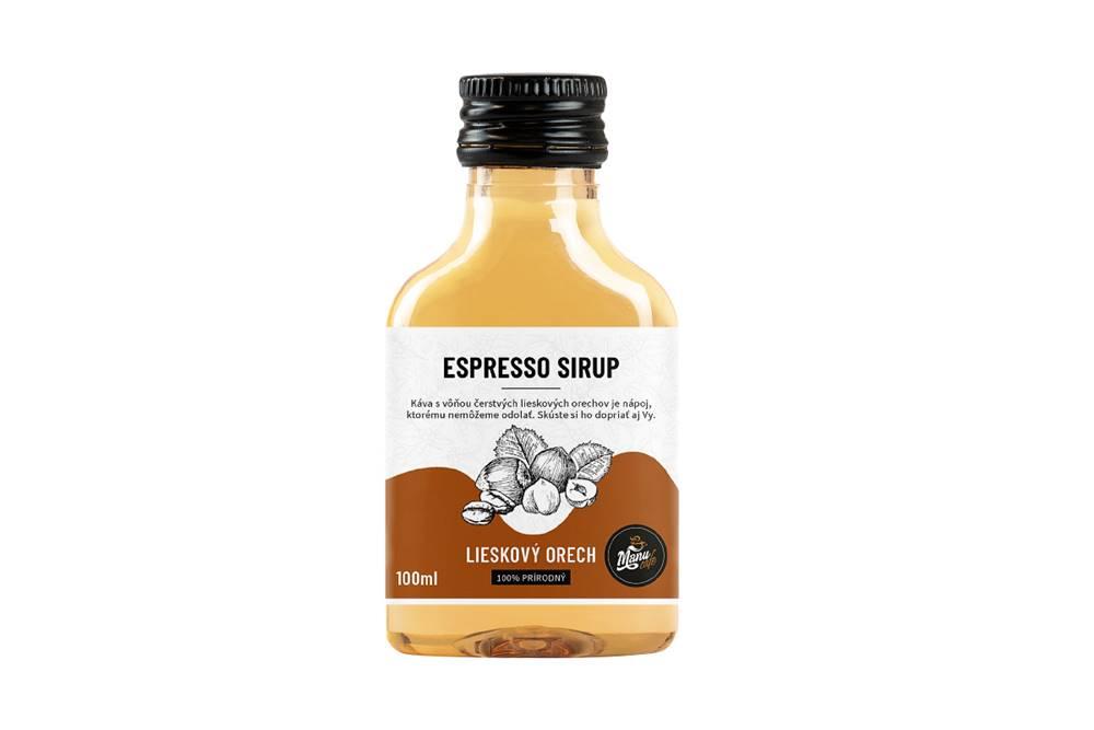Manu cafe ESPRESSO SIRUP LIESKOVÝ ORECH - 100ml