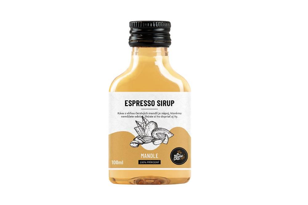 Manu cafe ESPRESSO SIRUP MANDLE - 100 ml