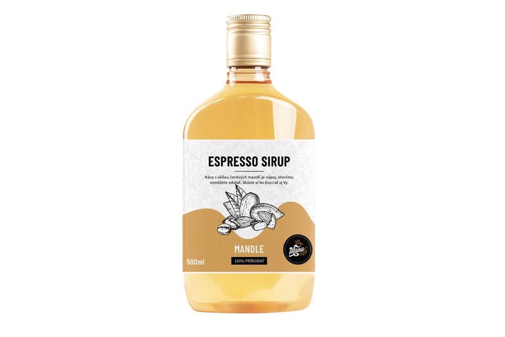 Manu cafe ESPRESSO SIRUP MANDLE - 500 ml