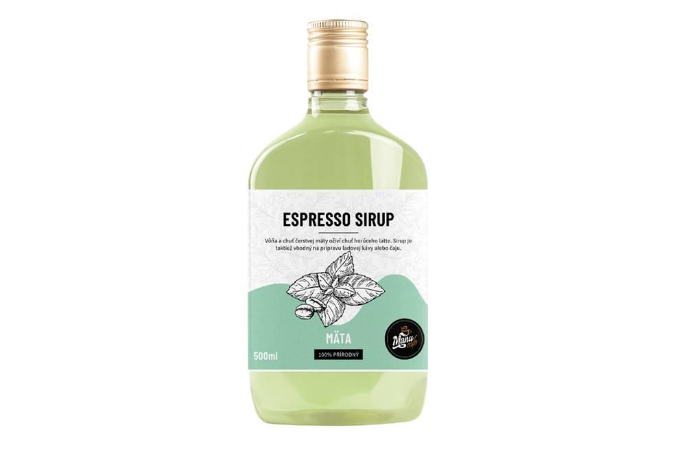 Manu cafe ESPRESSO SIRUP MÄTA - 500 ml
