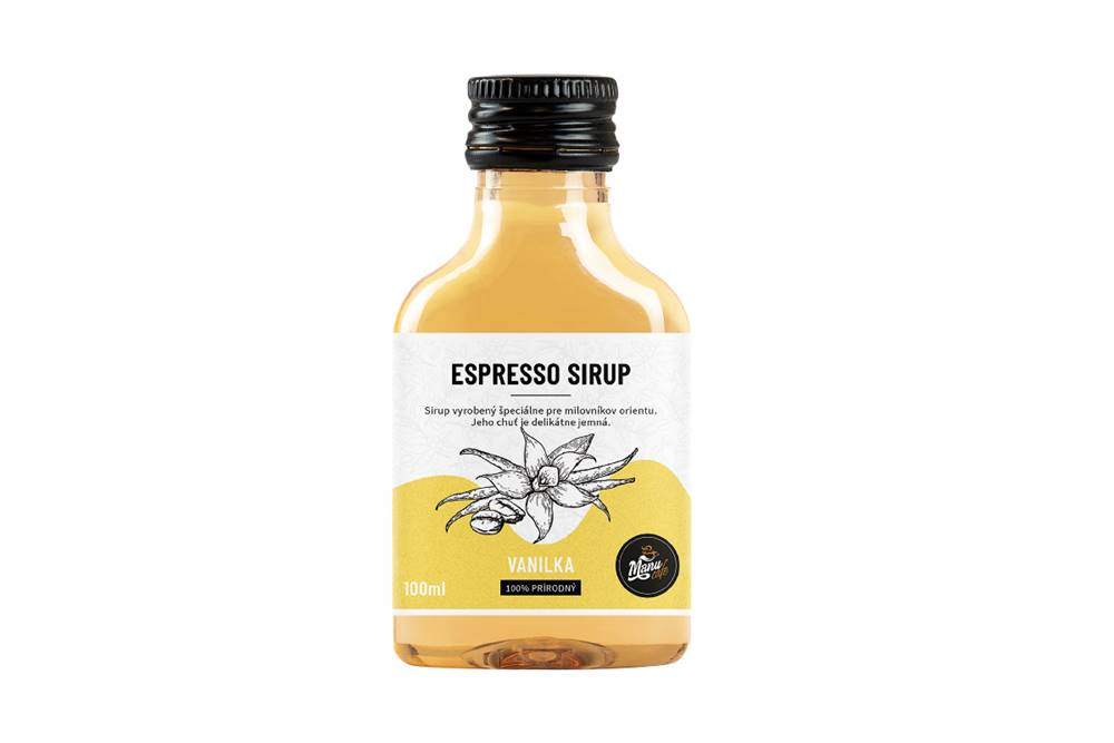 Manu cafe ESPRESSO SIRUP VANILKA - 100 ml