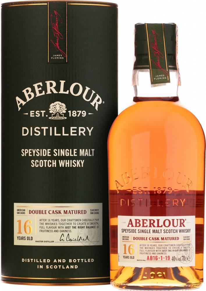 Aberlour Aberlour 16 ročná Double Cask 43% 0,7l