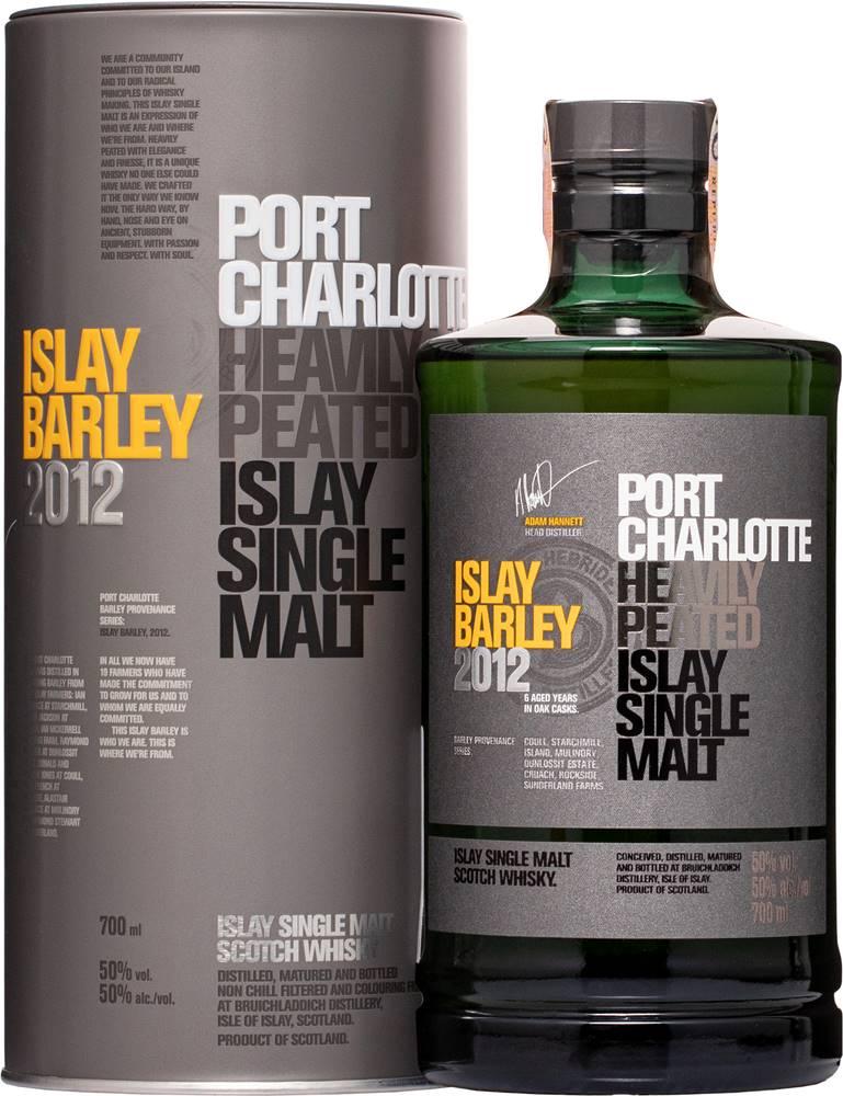 Bruichladdich Bruichladdich Port Charlotte Islay Barley 2012 50% 0,7l
