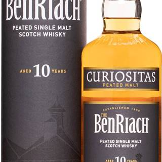BenRiach Curiositas 10 ročná 46% 0,7l