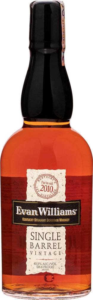 Evan Williams Evan Williams Single Barrel Vintage 2010 43,3% 0,7l