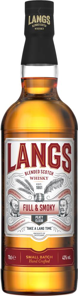 Langs Langs Full & Smoky 43% 0,7l