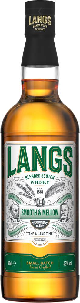 Langs Langs Smooth & Mellow 43% 0,7l