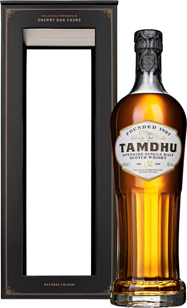 Tamdhu Tamdhu 12 ročná Sherry Oak Casks 43% 0,7l