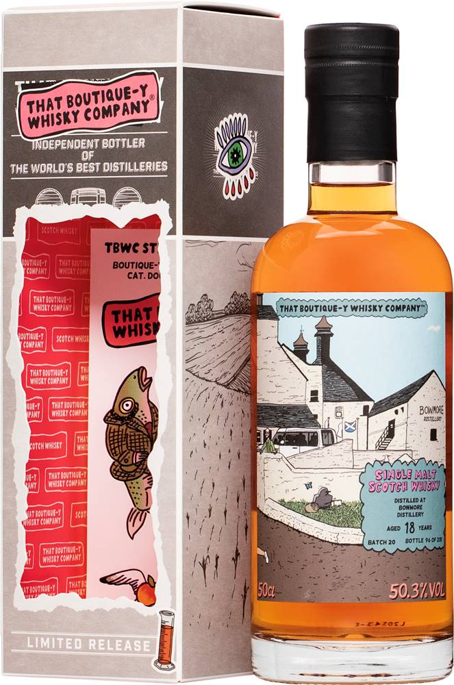 That Boutique-y Whisky Company That Boutique-y Whisky Company Bowmore 18 ročná 50,3% 0,5l
