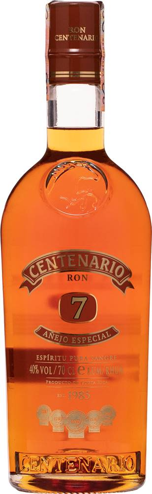 Ron Centenario Ron Centenario Añejo Especial 7 ročný 40% 0,7l