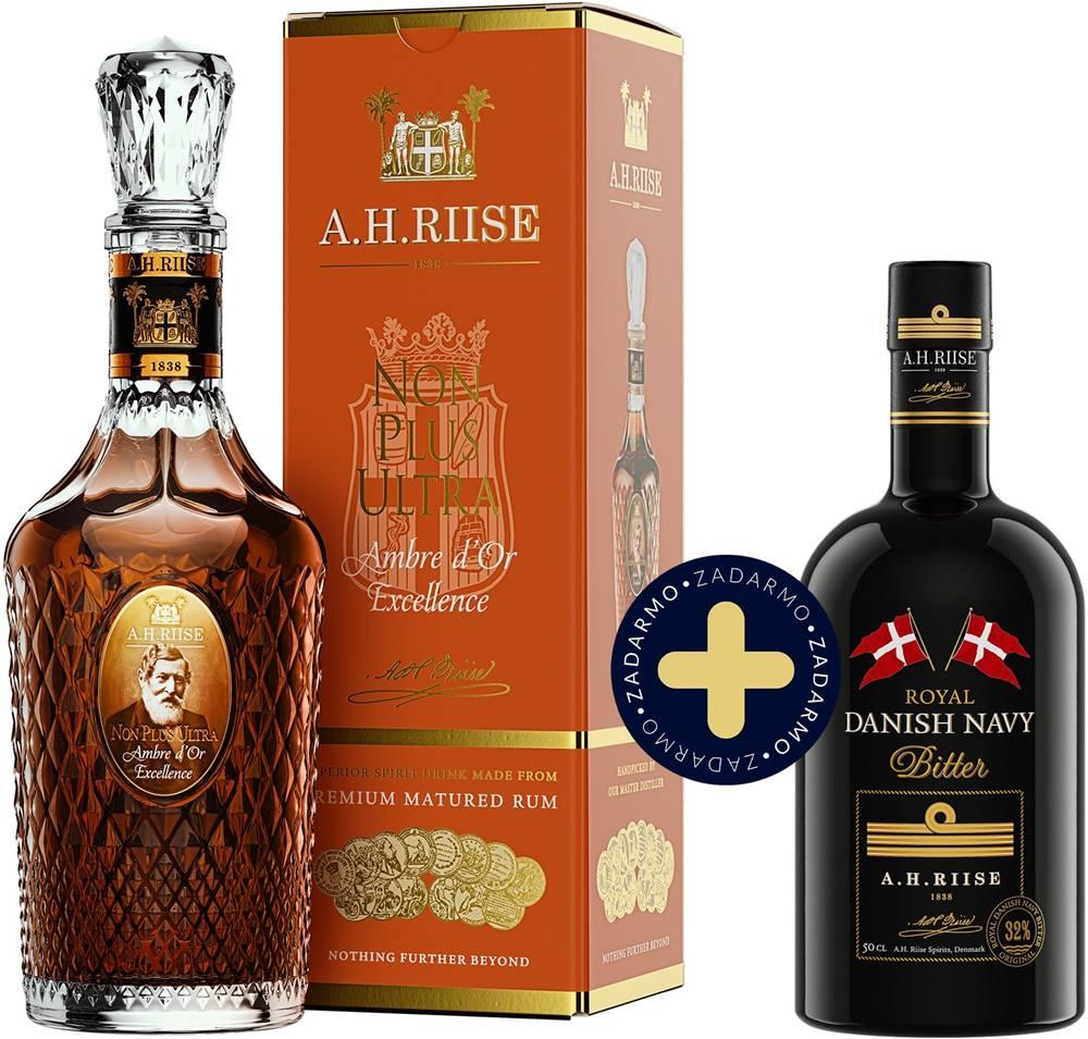 A.H. Riise Set A.H. Riise Non Plus Ultra Ambre d&