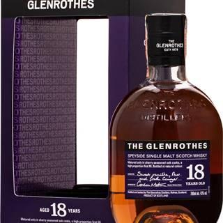 Glenrothes 18 ročná 43% 0,7l