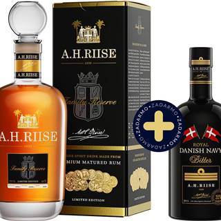 Set A.H. Riise Family Reserve + Westindian Bitter zadarmo