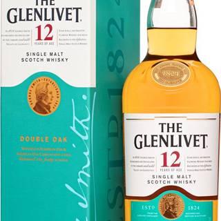 The Glenlivet 12 ročná Double Oak 40% 0,7l