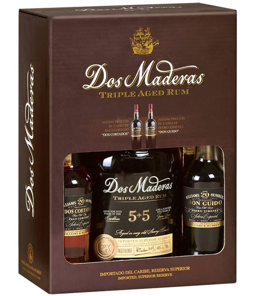Dos Maderas Dos Maderas PX 5+5 Tasting Set 40% 0,7l