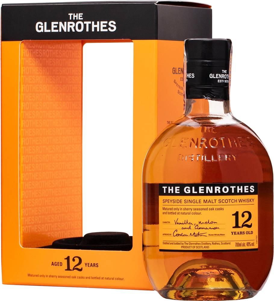 The Glenrothes Glenrothes 12 ročná 40% 0,7l