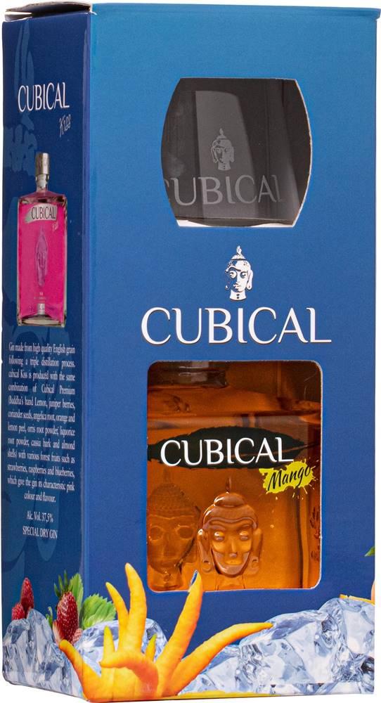 Cubical Cubical Mango + pohár 37,5% 0,7l