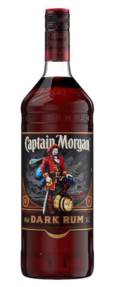 Captain Morgan Dark 1l 40%